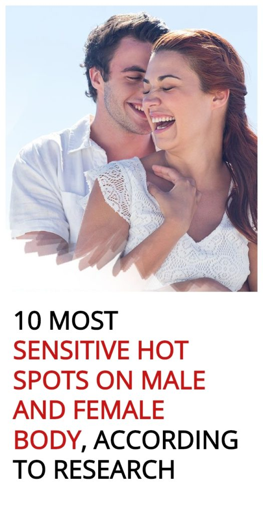 Most sensitive part of the body male
